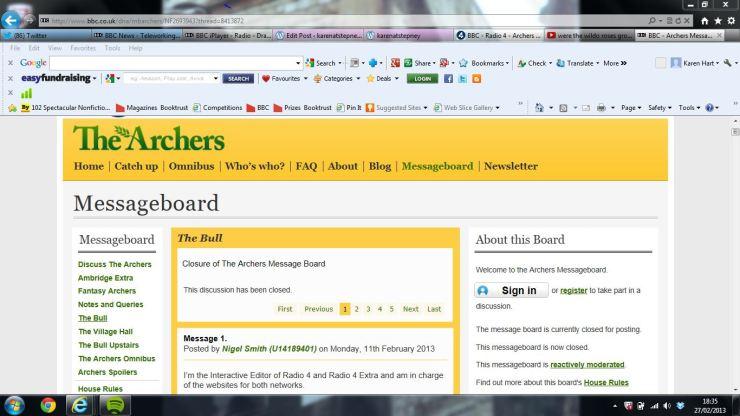 Closure_announcement-The_Archers_Messageboard