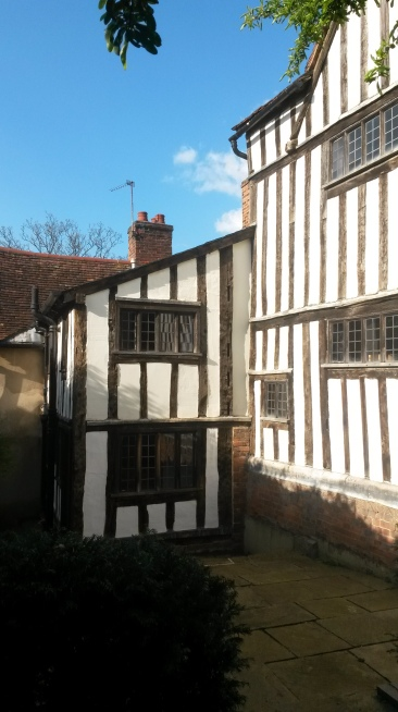 Blue skies, Peake's House, Colchester, Landmark Trust